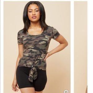 soft camo tee from rue 21, never worn size L